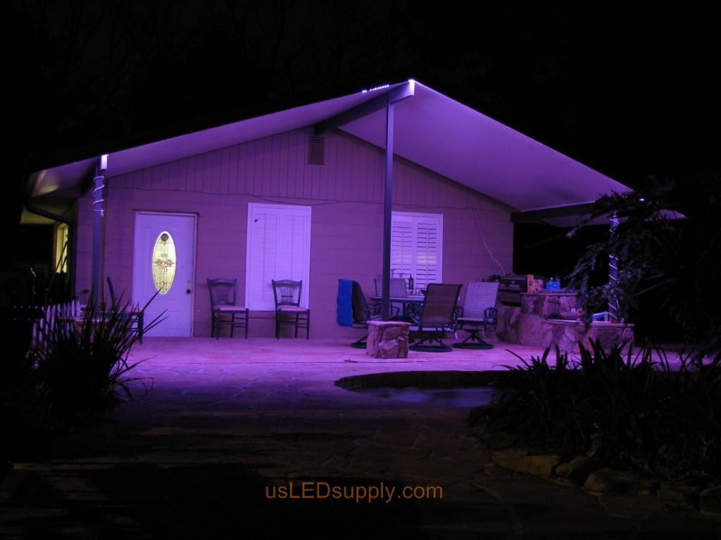 Florida Garage Patio Uses LED Lighting And Becomes The Perfect Spot For  Catered Events. Part 74