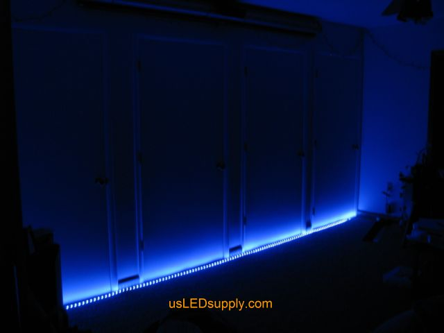 home theater led lighting. Rgb Led Strips Light Up A Home Theater Area In An Apartment Lighting H