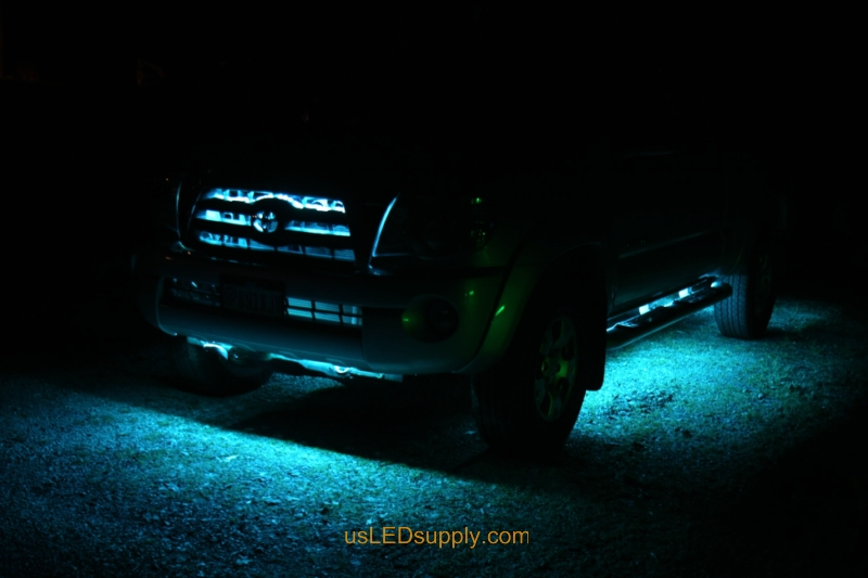 Truck with RGB LED Lighting