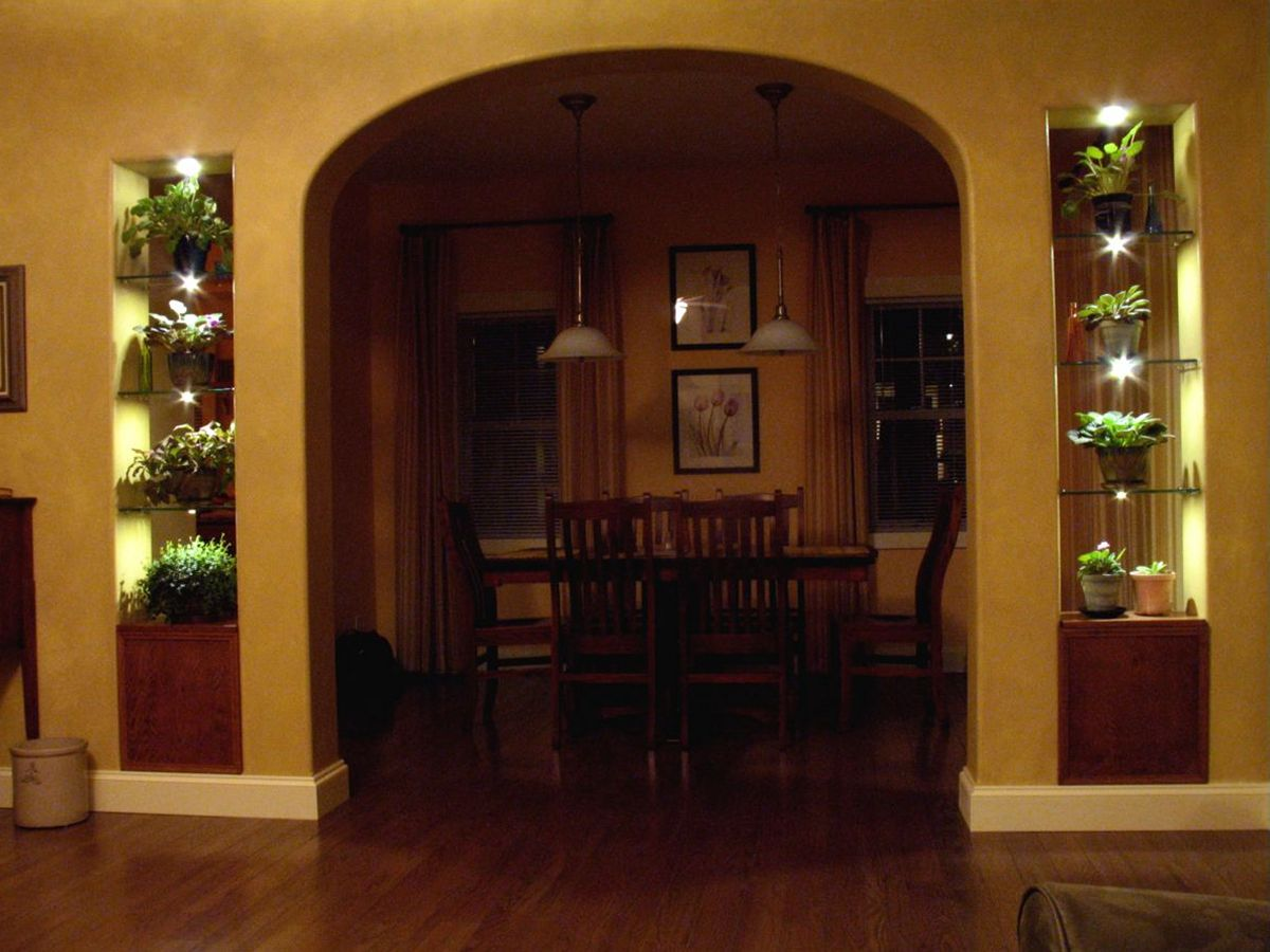 Project ideas photos and instructions for Archway decoration ideas