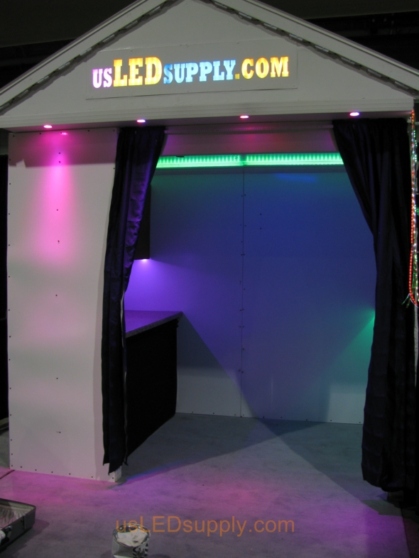 usLEDsupply Trade Show Booth