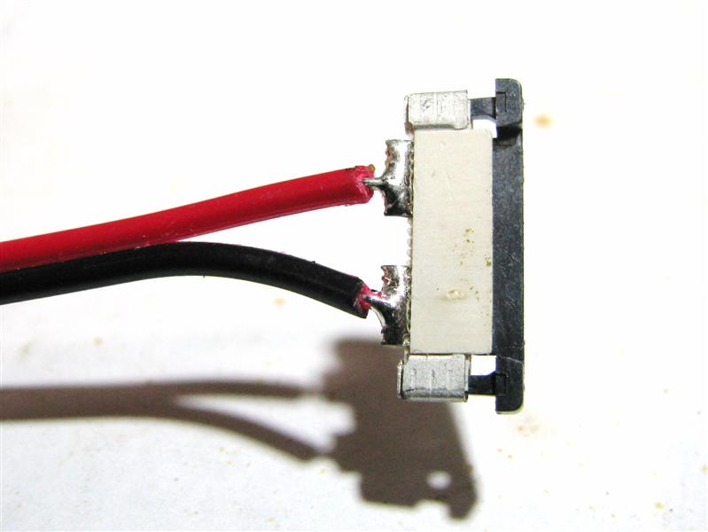 Open single color splice connector