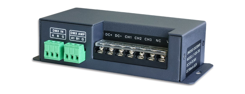 RGB DMX Decoder 700mA
