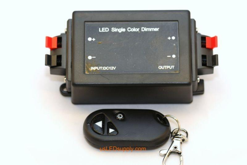 PWM RF Keychain Remote Control LED Dimmer 8A
