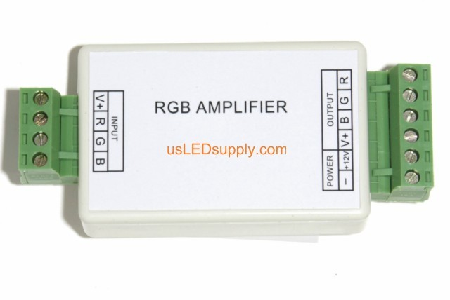 RGB Amplifier 4A/Ch for interfacing with a Micro-Controller (PWM/TTL Input)