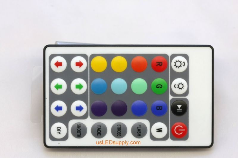 RGB Remote Control 2A (28x Button Remote)