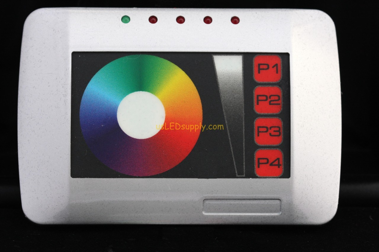 Touch Screen DMX RGB LED Controller
