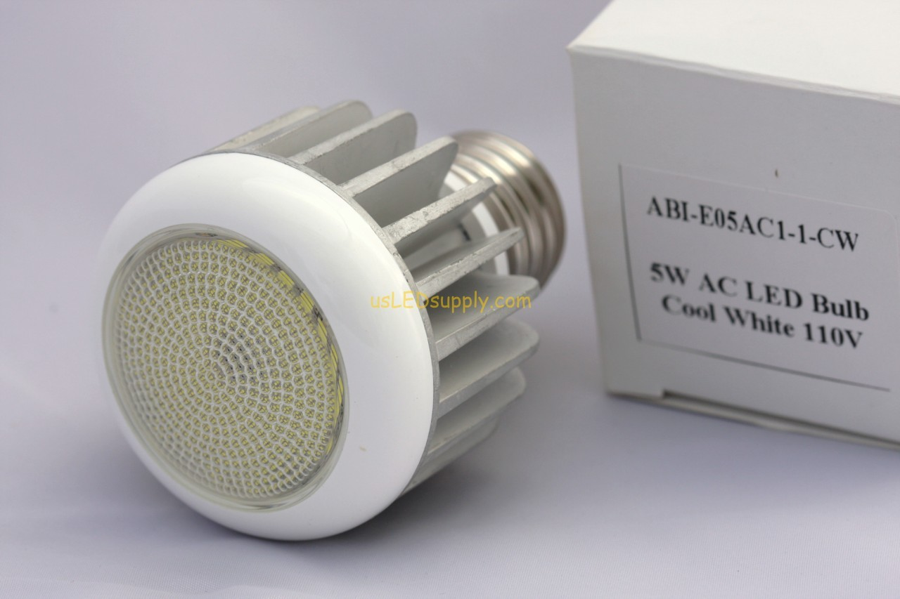 5W Cool White LED Replacement Bulb EU-27