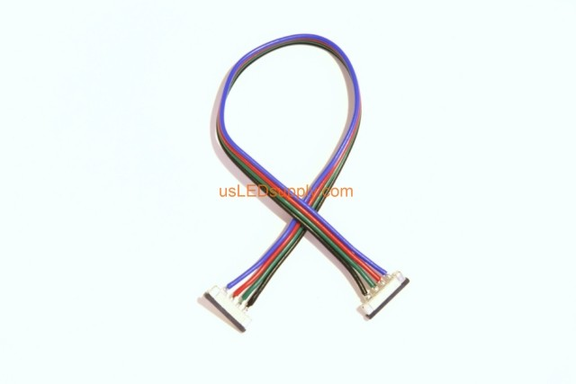 Solder-less RGB Splice Connector Strip-Wire-Strip