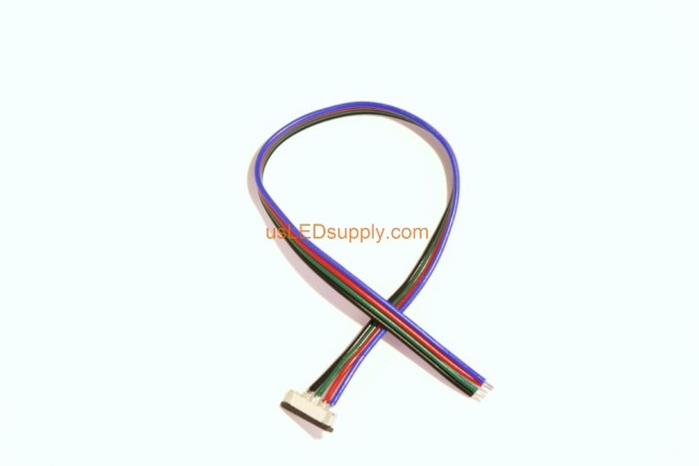 Solder-less RGB Splice Connector Strip-Wire