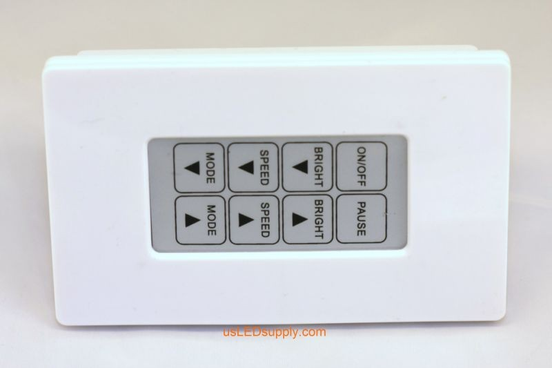 RGB Controller 8 Key Touch (Wall Plate)