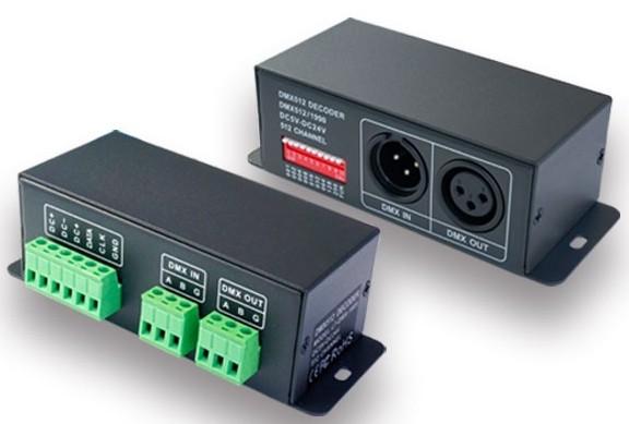 DMX to TM1809, WS2811, WS2812B  Converter