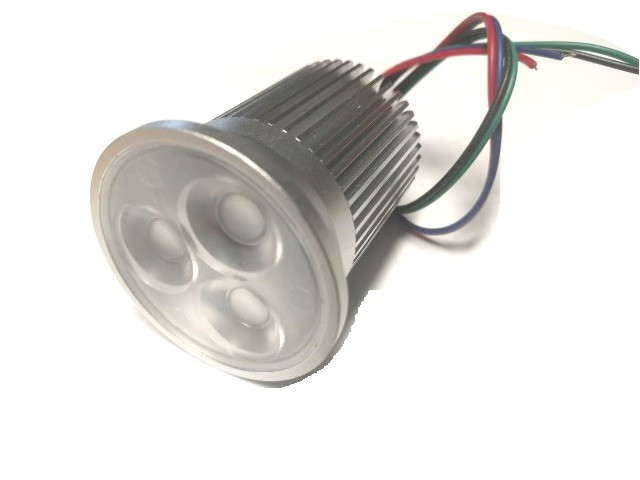 12v 9w RGB Puck Light