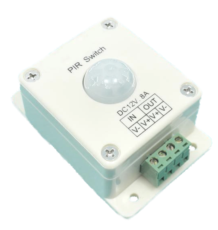 LED Motion Sensor On/Off  8A (Surface Mount)