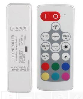 RGB Remote Control RF 4A (Micro RGB)