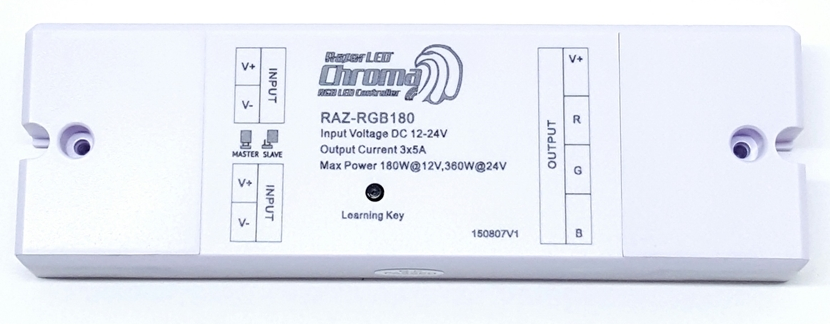 RGB Wireless RF LED Receiver Razor Chroma