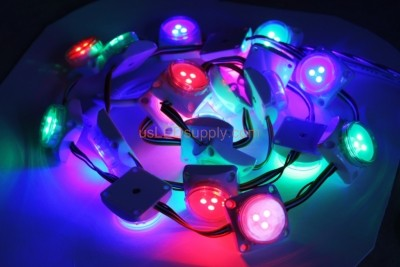12V LED RGB Digital Point Modules Round