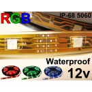 12V RGB Waterproof Flexible LED strip 16' Roll