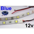 12V Blue Flexible LED Strip 16' Roll