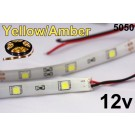 12V Yellow/Amber Flexible LED Strip 16' Roll
