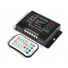 RGB IR Music Controller with Audio Input/Mic 6A 28x Key