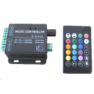 RGB IR Music Controller with Audio Input/Mic 4A 24x Key