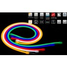 24v Neon Flex Rope Daylight White' Roll (IP-68) (120/M 600/Roll)