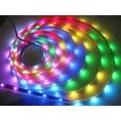 12v RGB Flexible LED Strip 16' Roll (Digital Point Control)
