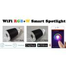 7w RGB-WW LED Smart Light WiFi120v (EU-27 Base)