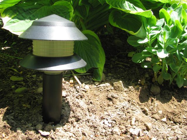 RGB LED Garden Path Light