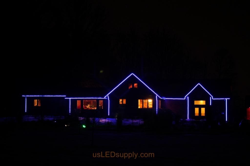 Medium Brightness Setting For The Led House Outline